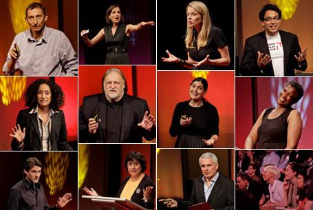 TEDSalon speaker collage