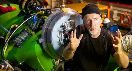 Photo: James Cameron / Deepsea Challenge Blog