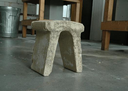 sandstone stool
