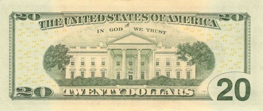 Aurasma: a $20 bill