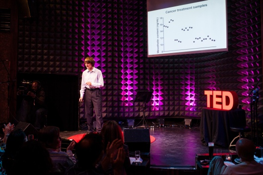 Jack Andraka speaks as part of the TED2013 Talent Search