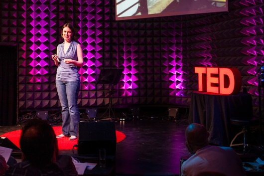 Tania Luna speaks as part of the TED2013 Talent Search