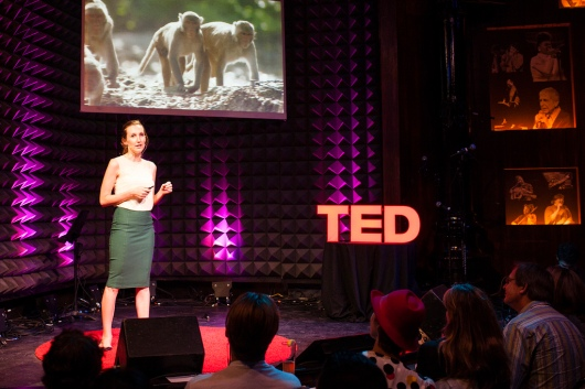 Lauren Brent speaks at TED@New York