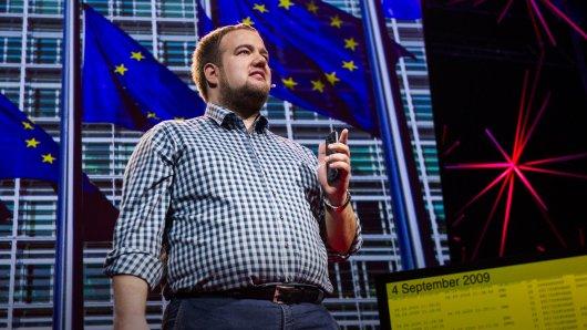 Malte Spitz speaks at TEDGlobal 2012