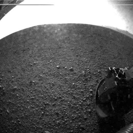 First image from Curiosity