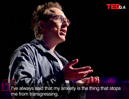 Jon Ronson speaks at TED2012