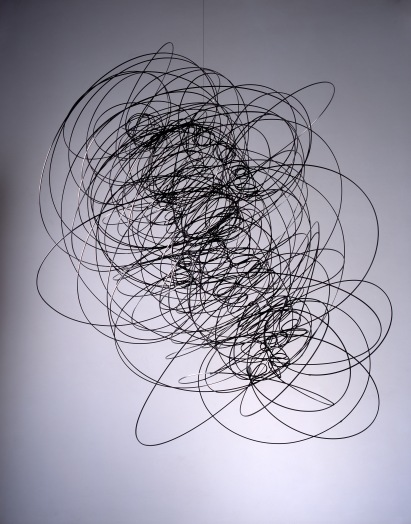 Antony Gormley's Feeling Material X