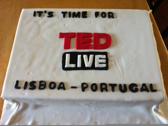 TEDLive-cake