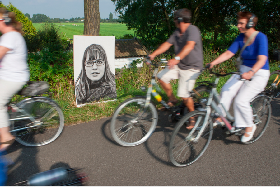 Cyclists in Utrecht, Germany, began this initiative to share the stories of young bike-riders.