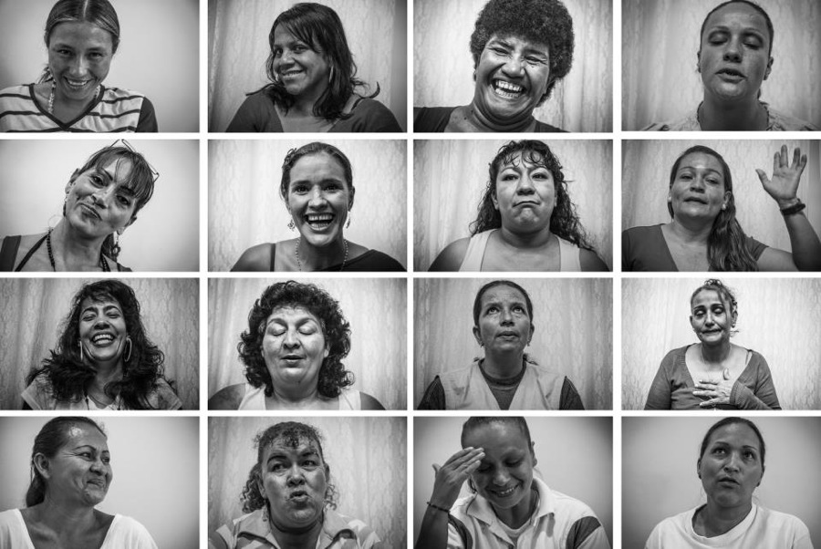 This project went on behind bars in a women's prison in Medellin, Colombia. The idea was to photograph those incarcerated and interview them about what they plan to do upon release.