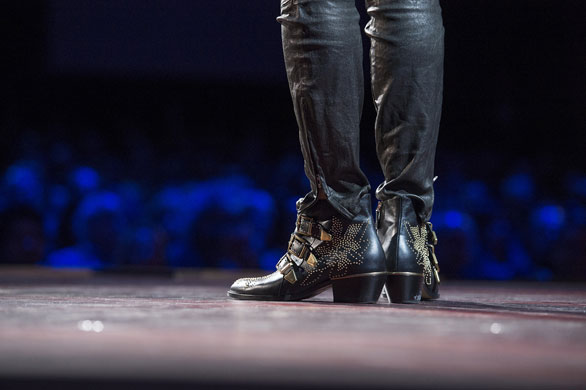 Nilofer Merchant's boots at TED2013 were certainly made for walking. Photo: James Duncan Davidson