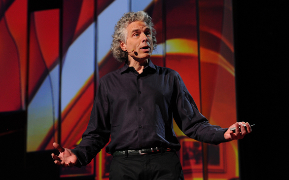 Steven Pinker is one of several TED speakers who's given a talk about the art of verbal language. Photo: James Duncan Davidson