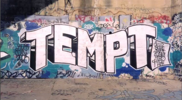 TEMPT-grafitti