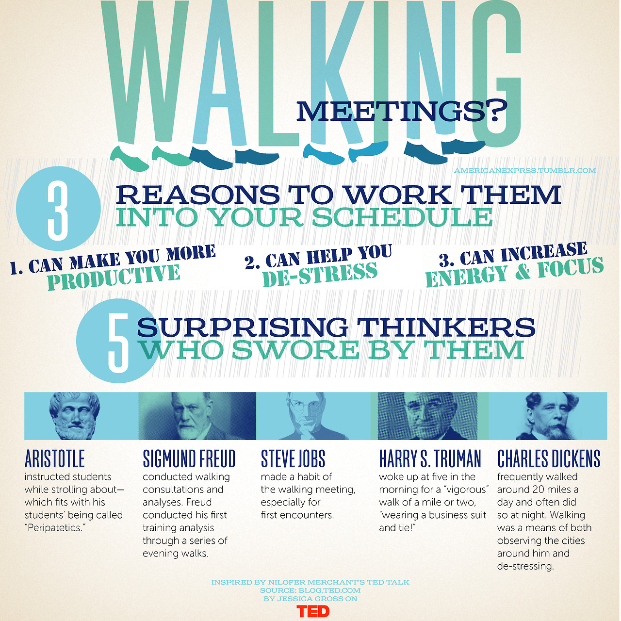 Walking meetings