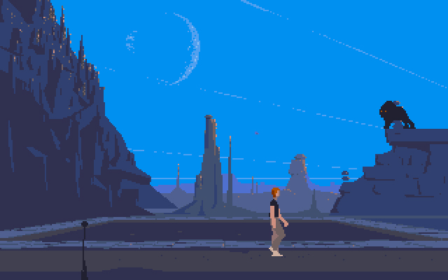 3. Another World. A technological and aesthetic breakthrough for the time--its sound effects and editing inspired a new wave in game design--it is still a fiercely elegant cinematic platformer game.