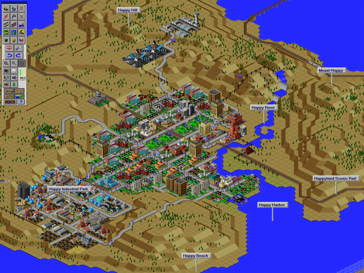 5. SimCity 2000. In game designer Will Wright's mind, we can all be master planners, movie directors, architects, little or BIG gods--and bear the great responsibilities that come with great power.