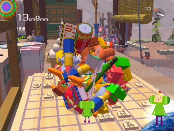 8. Katamari Damacy. In interaction design, Katamari Damacy represents the power of pure, unadulterated, good delight--of course supported by strong code and spatial and narrative sense. I have not met a soul who does not smile when the name of the game is mentioned.