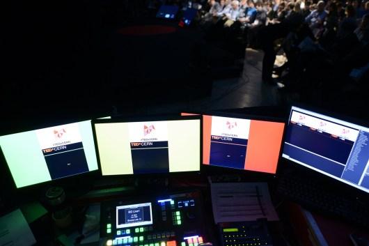 Backstage at TEDxCERN