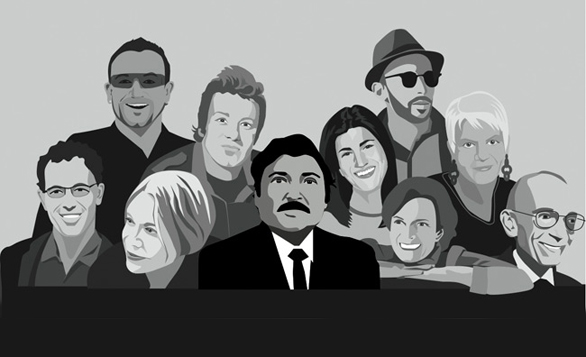 An artist's rendering of TED Prize winners past. Could you or someone you know win the 2014 TED Prize?