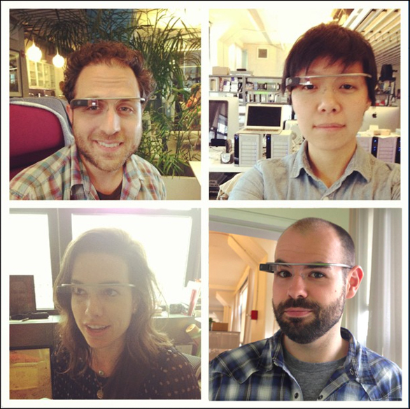 TED-staffers-Google-Glass