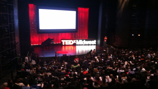 The audience at TEDxYouth@Midwest was made up of sophomores and juniors.