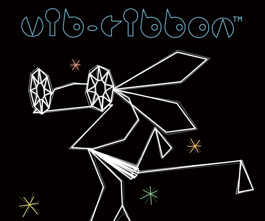 """7. Vib-Ribbon. """"This is a lovely game that responds to the music the player chooses (the """"preassigned"""" demo plays to a haunting tune that reminds me of Jay-Z's """"Hard Knock Life""""). But more than anything, its minimal graphics remind me of a cartoon I grew up with in Italy, Osvaldo Cavandoli's La Linea."""" Masaya Matsuura (Japanese, born 1961). Publisher: Sony Computer Entertainment Inc. 1997-1999. video game. Gift of Sony Computer Entertainment Inc. © 1999 Sony Computer Entertainment Inc."""