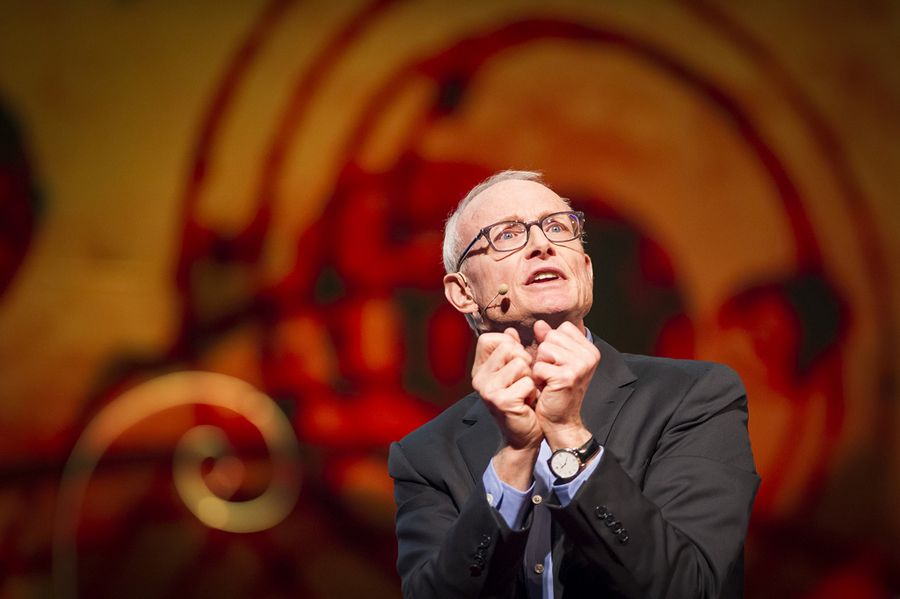 Michael Porter shares how businesses can, in fact, help solve social problems. Photo: James Duncan Davidson