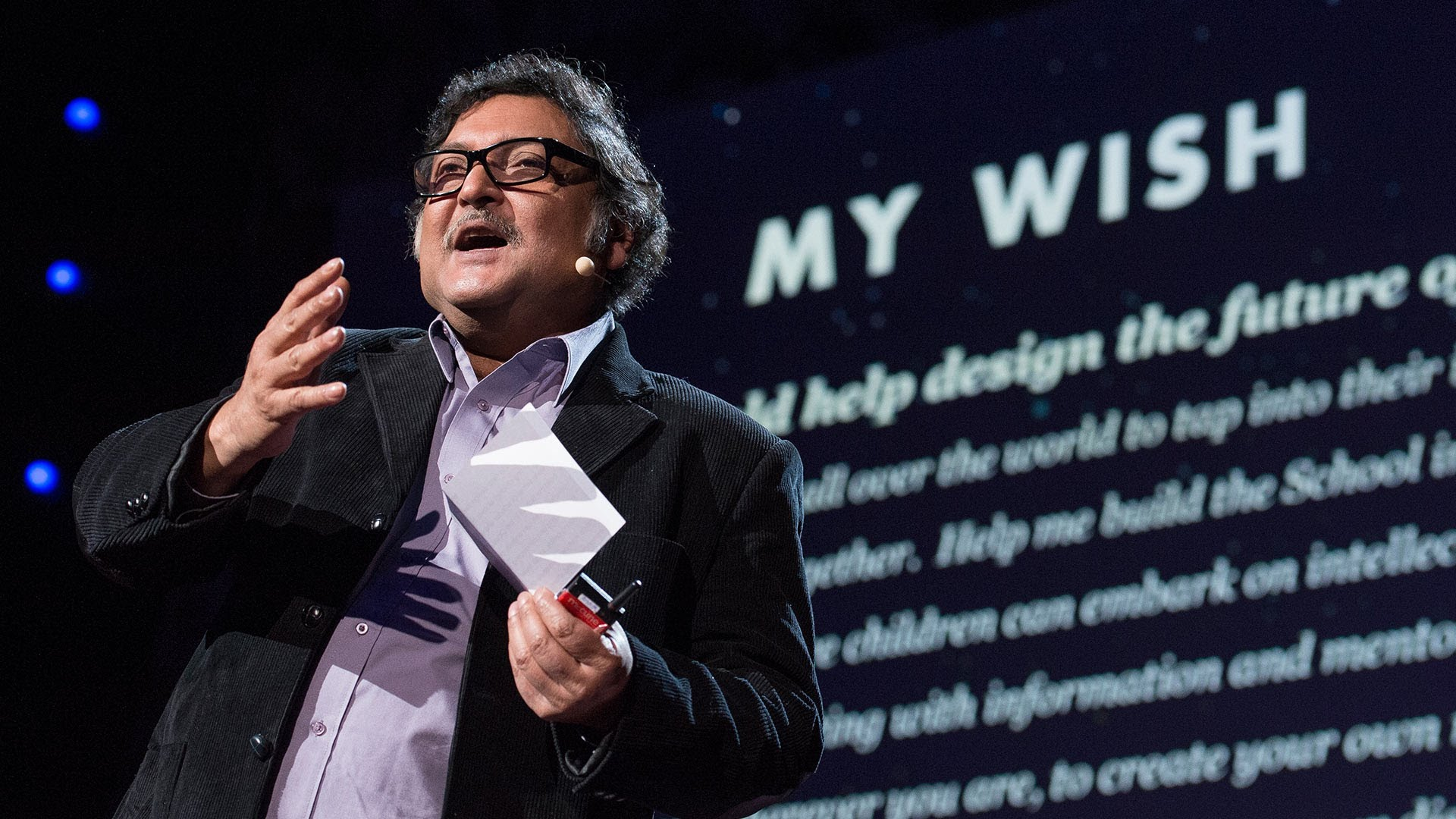 Sugata Mitra received $1 million to build the School in the Cloud in 2013 — and today his learning labs are open across India, as well as in the US and UK. Could you nominate the next Prize winner? Photo: James Duncan Davidson/TED