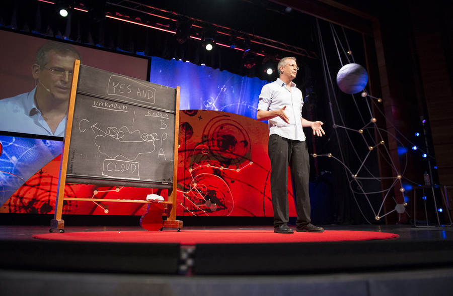 Uri Alon shares why scientists must think more like improv artists. Photo: James Duncan Davidson