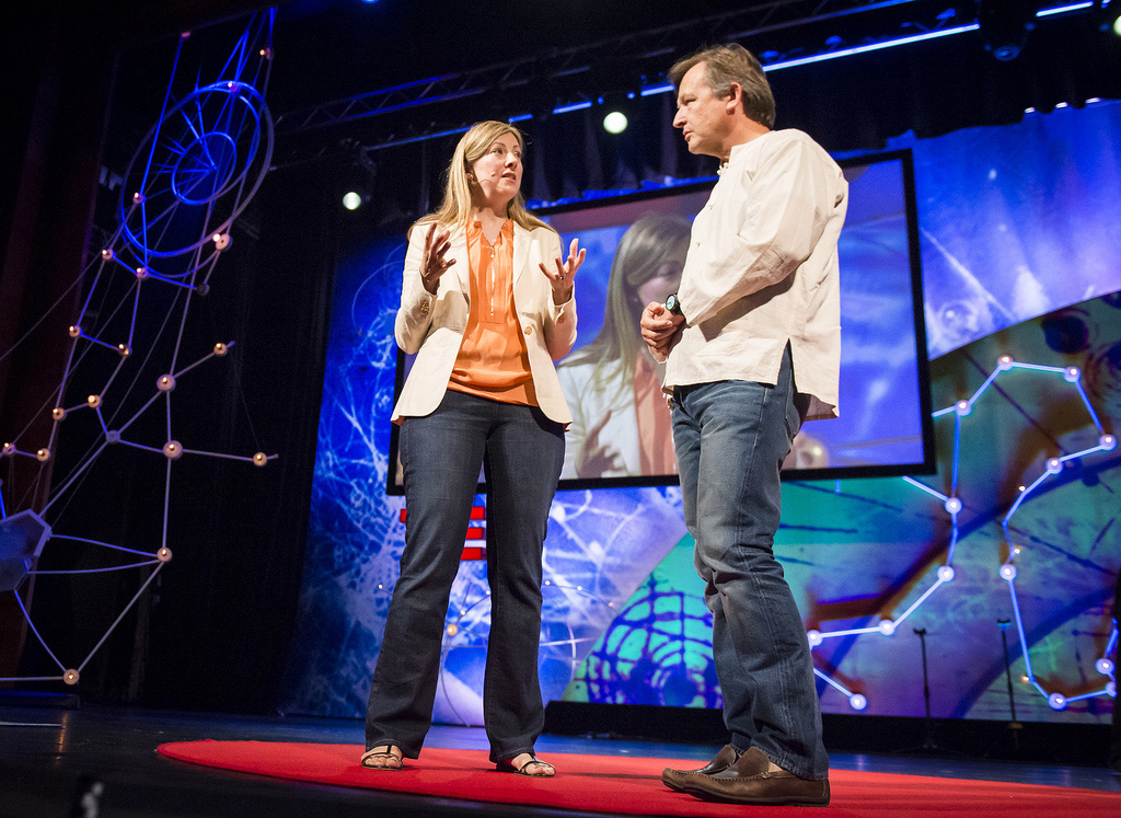 At TEDGlobal 2013, Chris Anderson asks Charmian Gooch about her work exposing corruption. Below her talk footnoted, so that you can read more on each case she references. Photo: James Duncan Davidson