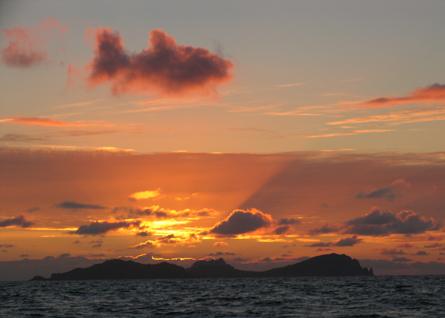 A fish in the sky, spotted by Gavin Tobin of the Blasket Islands in Ireland.