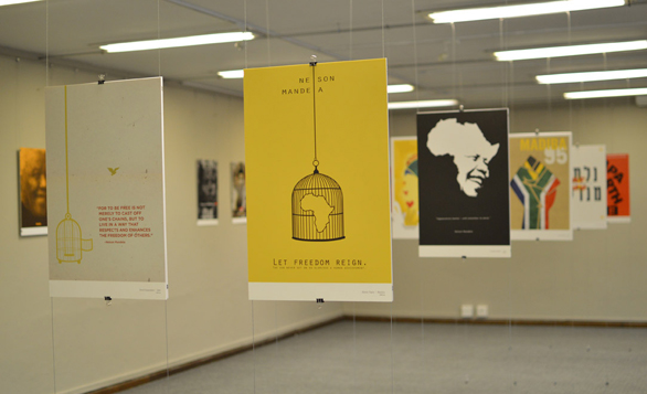 Just some of the powerful posters created for Mandela Day, through a project launched at TEDxSoweto.