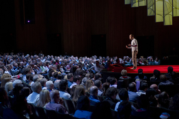 Cesar Kuriyama originally gave an audition talk at TED@NYC. He went on to speak at the TED2012 mainstage. Photo: James Duncan Davidson