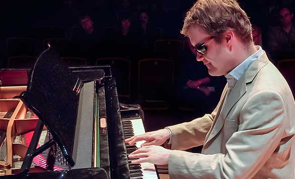 Pianist Derek Paravicini, who has severe autism, processes music in fascinating ways. Here, resources for learning more. Photo: TEDxWarwick