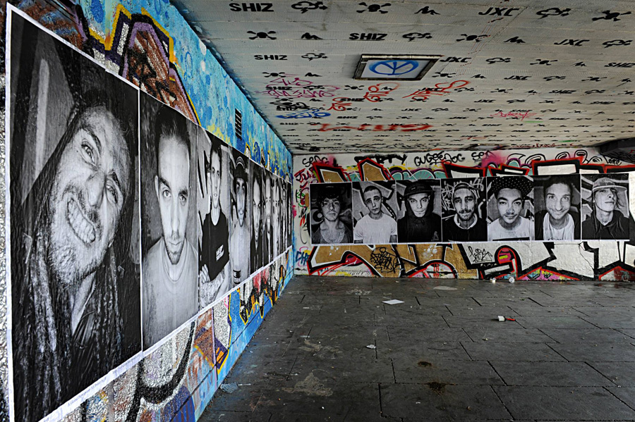London: Skaters in London banded together to save their beloved skate park from potential closure by pasting their portraits at the Undercroft at the Southbank Centre to protect a space that inspires and invigorates them.