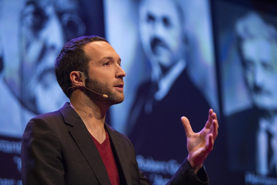 Alex Macdonald at the TED Fellows Retreat 2013. Photo: Ryan Lash.