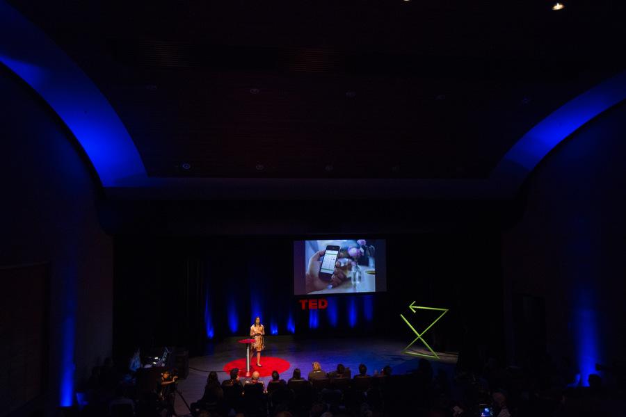 Tanzeem Choudhury at the TED Fellows Retreat 2013.  Photo: Ryan Lash.
