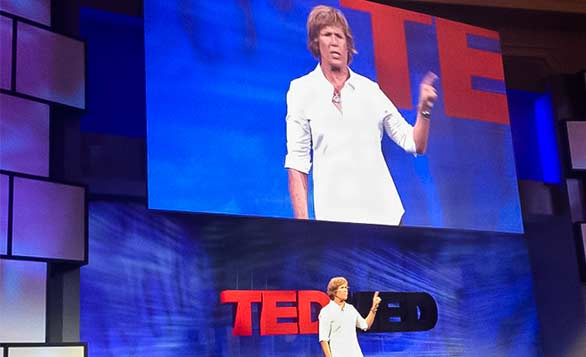 Diana Nyad has accomplished her biggest dream — swimming from Cuba to Florida without a shark cage — at age 64. Here, she talks at TEDMED 2011 about why she decided to take on this crazy goal. Photo: Klick Pharma