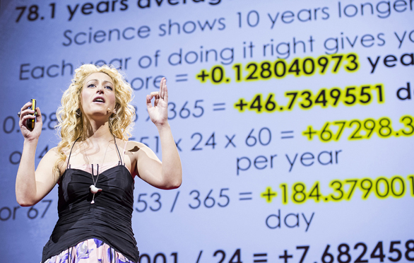 Jane McGonigal shares how a video game helped pull her out of depression following an injury. Photo: James Duncan Davidson