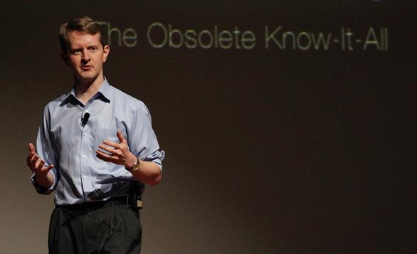Ken Jennings speaks at TEXSeattleU about the experience of losing to Watson on Jeopardy.