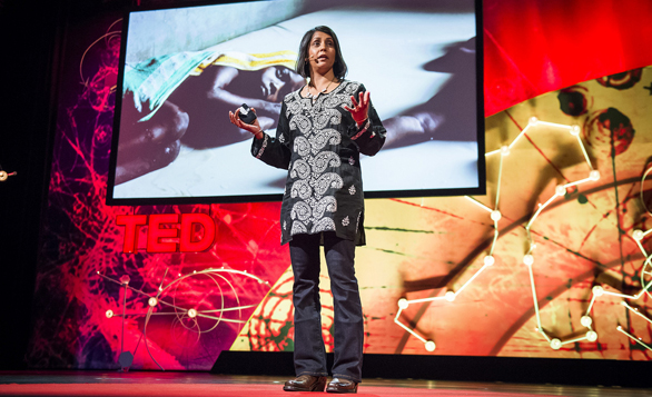 Sonia Shah shares a surprising reason why we still haven't ended malaria at TEDGlobal 2013 — that people in malarial countries have accepted it as an unfortunate fact of life. Photo: James Duncan Davidson