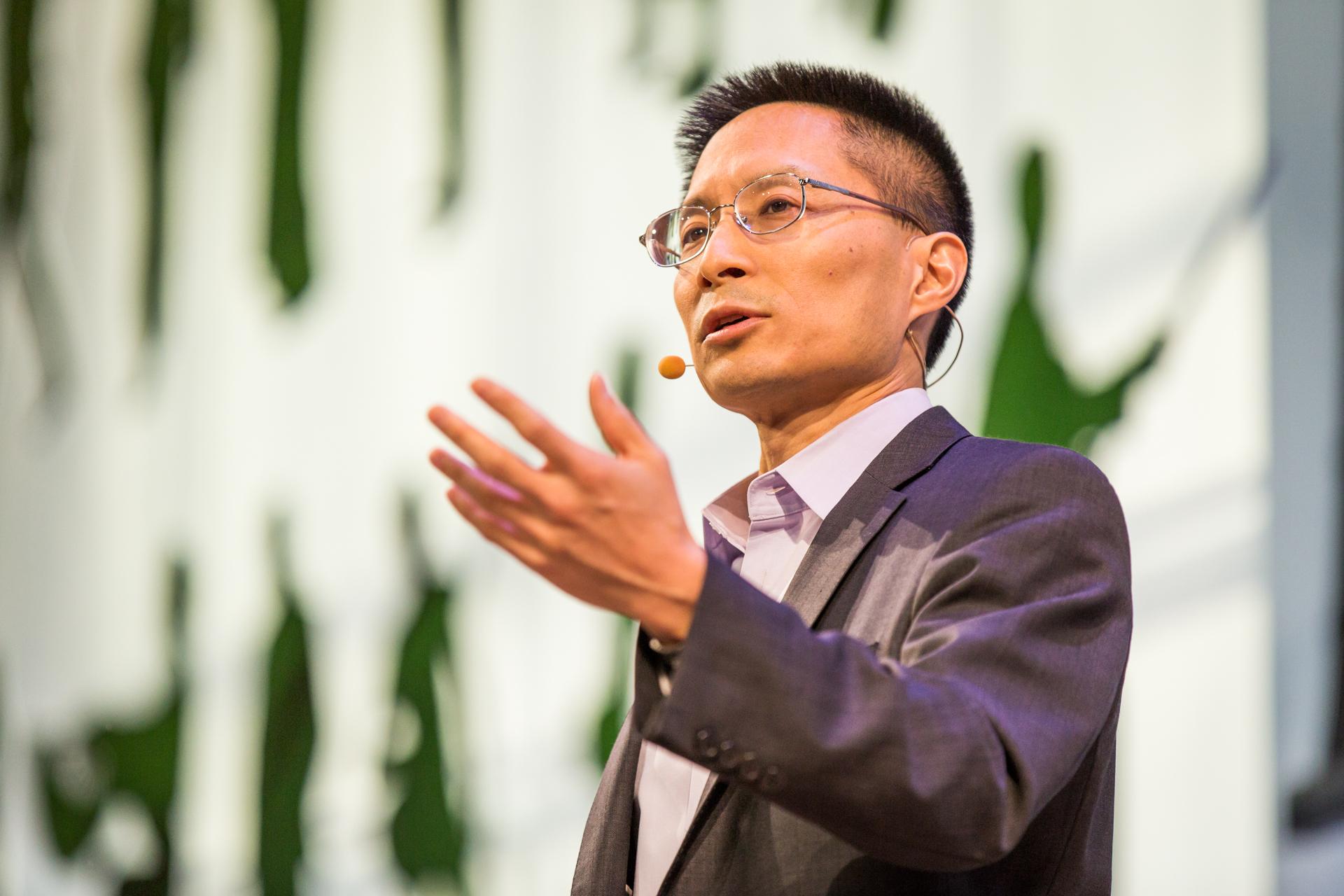 Eric Liu at TEDCity2.0 2013. Photo: Ryan Lash