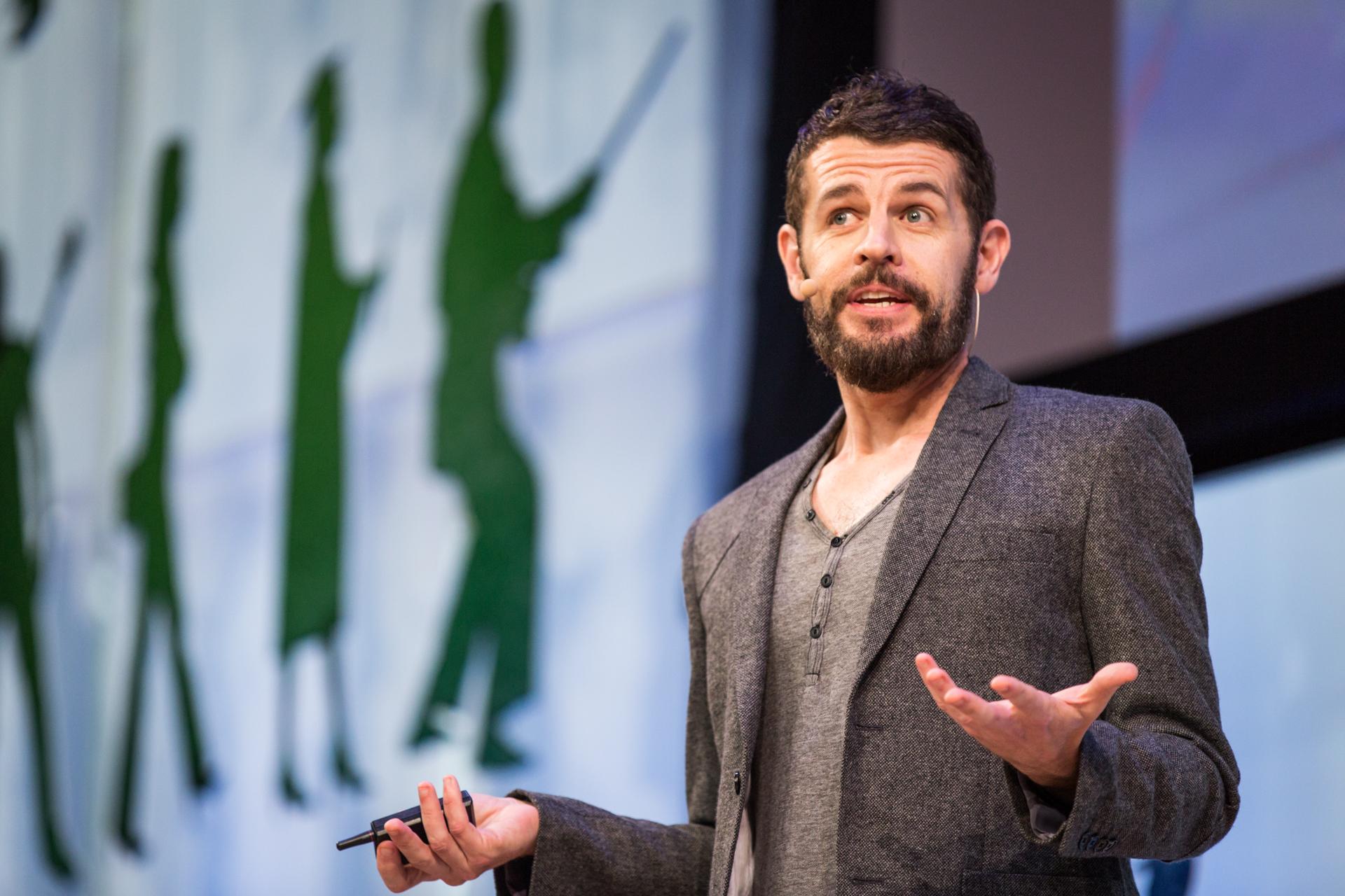 Jason Sweeney at TEDCity2.0 2013. Photo: Ryan Lash