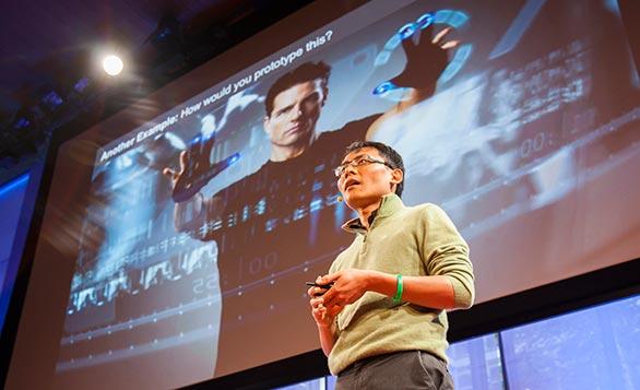 Google's Tom Chi speaking at TEDYouth 2012. Photo: Ryan Lash.
