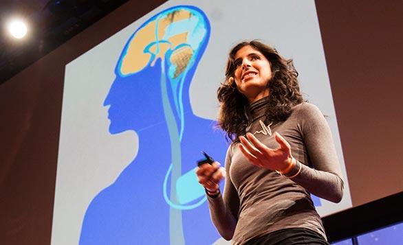 Tissue engineer Nina Tandon charmed at TEDYouth 2012.