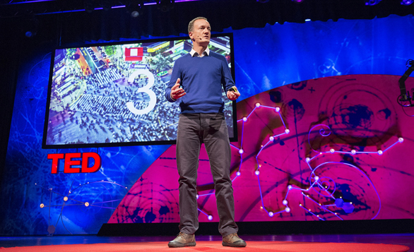 Steve Howard talks about IKEA's super-sized sustainability strategies at TEDGlobal 2013. Photo: James Duncan Davidson