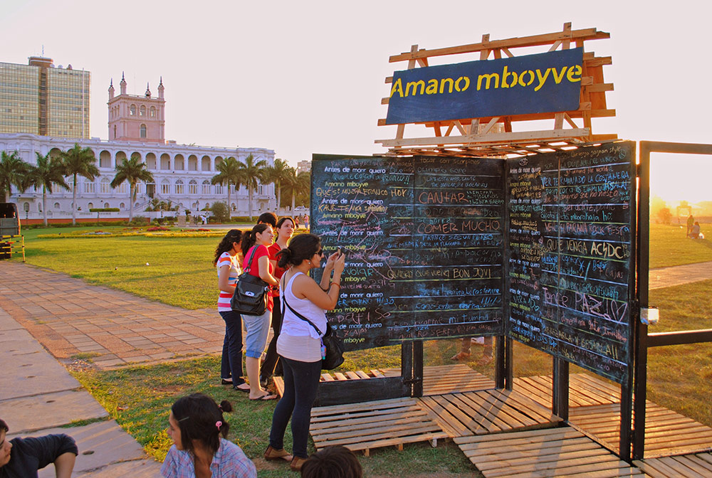 Before I die I want to own my own ice cream factory (Asunción, Paraguay). From a clever child or a wonderful adult.