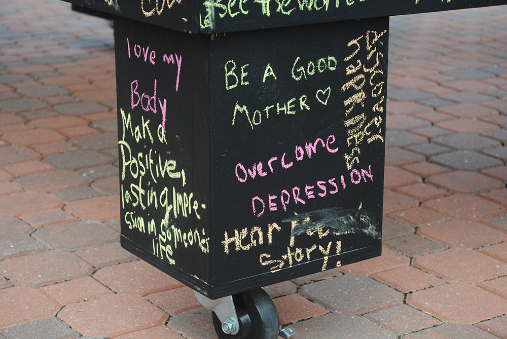 Before I die I want to overcome depression (Newport News, VA, USA). I've gone through dark periods of depression and existential crisis. It's comforting to know you're not alone and there is hope.