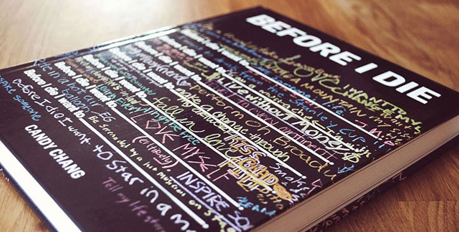 "Candy Chang's project ""Before I Die"" has become a global phenomenon. And now it is a book. Photo: Candy Chang"