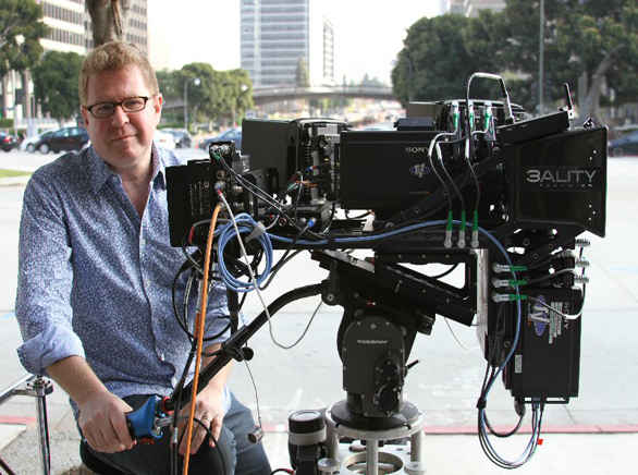 James Stewart, behind the camera.